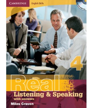 Підручник Real Listening & Speaking 4 with answers and Audio CD
