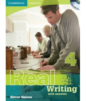 Підручник Real Writing 4 with answers and Audio CD