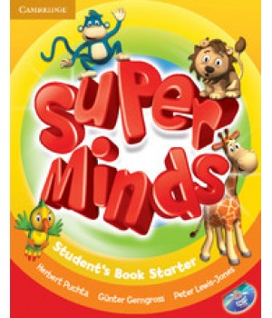 Підручник Super Minds Starter Student's Book with DVD-ROM