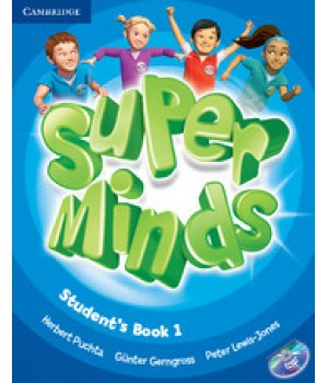 Підручник Super Minds 1 Student's Book with DVD-ROM