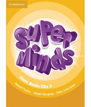 Диски Super Minds 5 Class Audio CDs (4)
