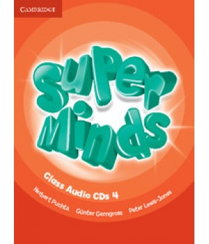 Диски Super Minds 4 Class Audio CDs (4)