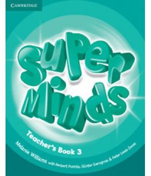 Книга для вчителя Super Minds 3 Teacher's Book