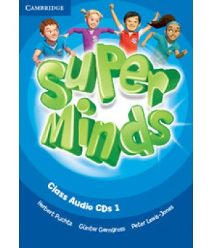 Диски Super Minds 1 Class Audio CDs (3)