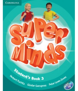 Учебник Super Minds 3 Student's Book with DVD-ROM
