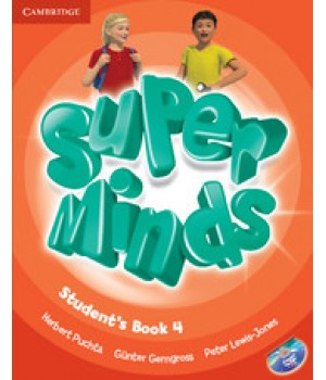 Підручник Super Minds 4 Student's Book with DVD-ROM