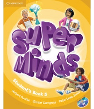 Підручник Super Minds 5 Student's Book with DVD-ROM