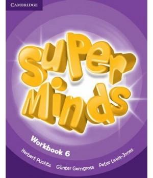 Рабочая тетрадь Super Minds 6 Workbook