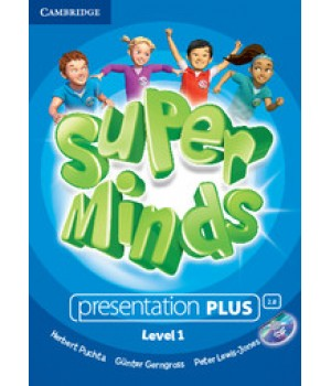 Диск Super Minds 1 Presentation Plus DVD-ROM