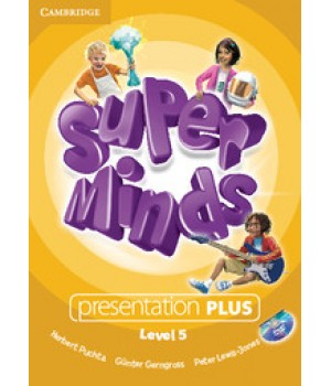 Диск Super Minds 5 Presentation Plus DVD-ROM