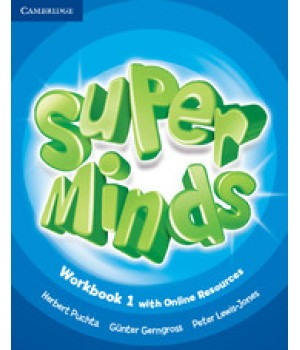 Робочий зошит Super Minds 1 Workbook with Online Resources