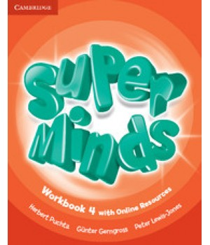 Робочий зошит Super Minds 4 Workbook with Online Resources