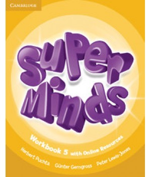 Робочий зошит Super Minds 5 Workbook with Online Resources