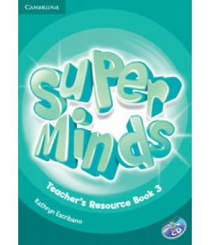 Книга для вчителя Super Minds 3 Teacher's Resource Book with Audio CD