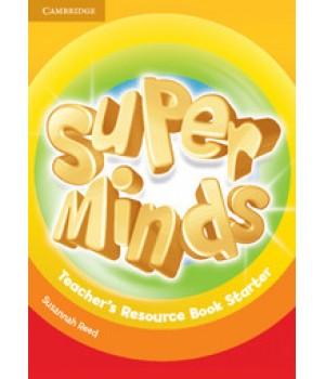 Книга для вчителя Super Minds Starter Teacher's Resource Book with Audio CD