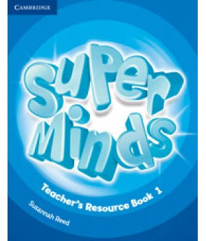 Книга для вчителя Super Minds 1 Teacher's Resource Book with Audio CD
