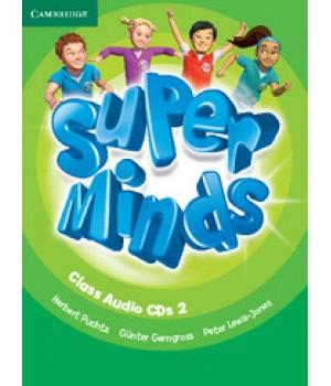 Диски Super Minds 2 Class Audio CDs (3)