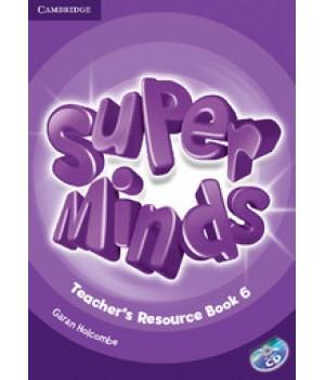 Книга для вчителя Super Minds 6 Teacher's Resource Book with Audio CD
