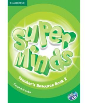 Книга для вчителя Super Minds 2 Teacher's Resource Book with Audio CD