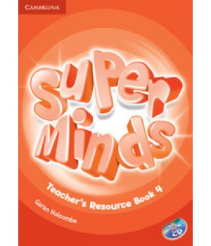Книга для вчителя Super Minds 4 Teacher's Resource Book with Audio CD