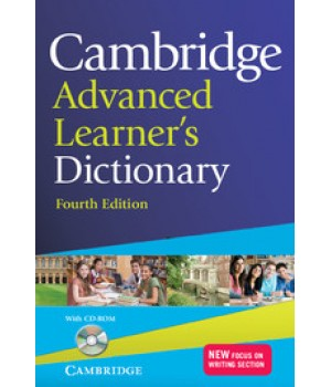 Словник Cambridge Advanced Learner's Dictionary Fourth edition Paperback with CD-ROM