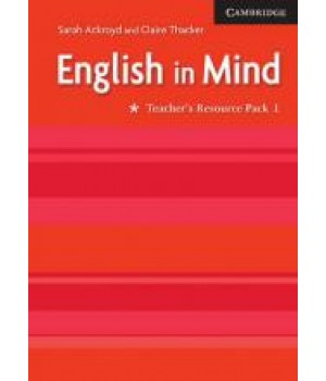 Книга для вчителя English in Mind 1 2nd Edition Teacher's Resource Book