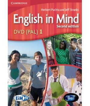 Диск English in Mind 1 2nd Edition DVD
