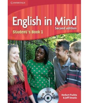 Підручник English in Mind 1 2nd Edition Student's Book with DVD-ROM