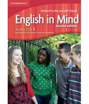 Диски English in Mind 1 2nd Edition Class Audio CDs (3)