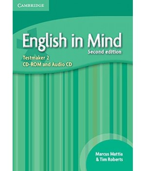 Диск English in Mind 2 2nd Edition Testmaker Audio CD/CD-ROM