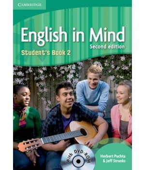 Підручник English in Mind 2 2nd Edition Student's Book with DVD-ROM