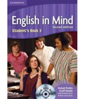 Підручник English in Mind 3 2nd Edition Student's Book with DVD-ROM