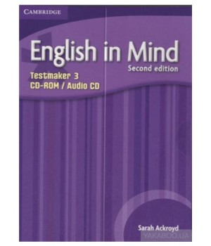Диск English in Mind 3 2nd Edition Testmaker Audio CD/CD-ROM