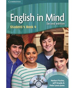 Учебник English in Mind 4 2nd Edition Student's Book with DVD-ROM