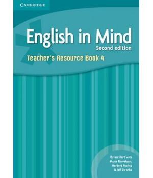 Книга для вчителя English in Mind 4 2nd Edition Teacher's Resource Book