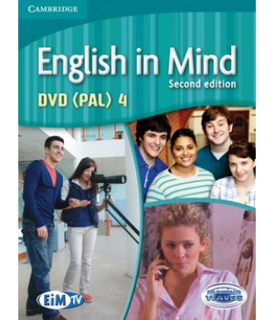 Диск English in Mind 4 2nd Edition DVD