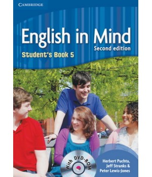 Підручник English in Mind 5 2nd Edition Student's Book with DVD-ROM