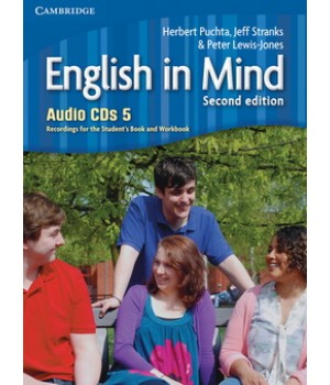 Диски English in Mind 5 2nd Edition Class Audio CDs (3)
