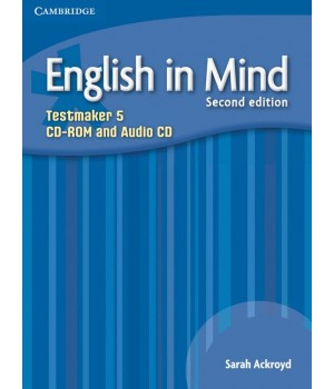 Диск English in Mind 5 2nd Edition Testmaker Audio CD/CD-ROM