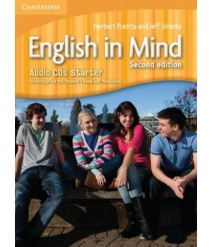 Диски English in Mind Starter 2nd Edition Class Audio CDs (3)