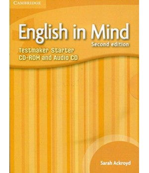 Диск English in Mind Starter 2nd Edition Testmaker Audio CD/CD-ROM
