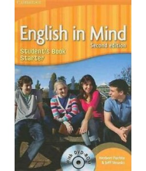 Підручник English in Mind Starter 2nd Edition Student's Book with DVD-ROM