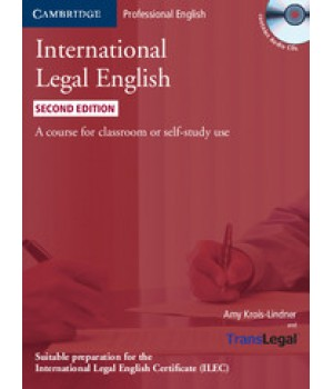 Учебник International Legal English Second edition Student's Book with Audio CDs (3)