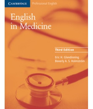 Підручник English in Medicine Third Edition Paperback with tapescript and answer key