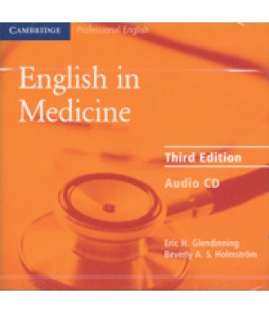 Диск English in Medicine Third Edition CD