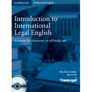 Підручник Introduction to International Legal English Student's Book with Audio CDs (2)
