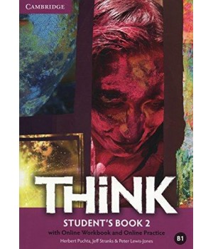 Підручник Think 2 (B1) Student's Book with Online Workbook and Online Practice