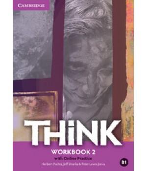 Робочий зошит Think 2 (B1) Workbook with Online Practice