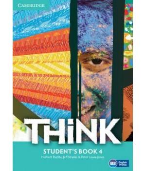 Підручник Think 4 (B2) Student's Book