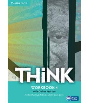 Робочий зошит Think 4 (B2) Workbook with Online Practice